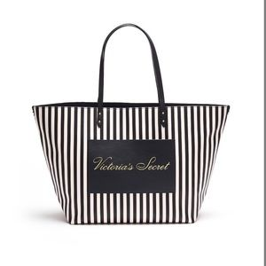 VS Striped Carry All Tote